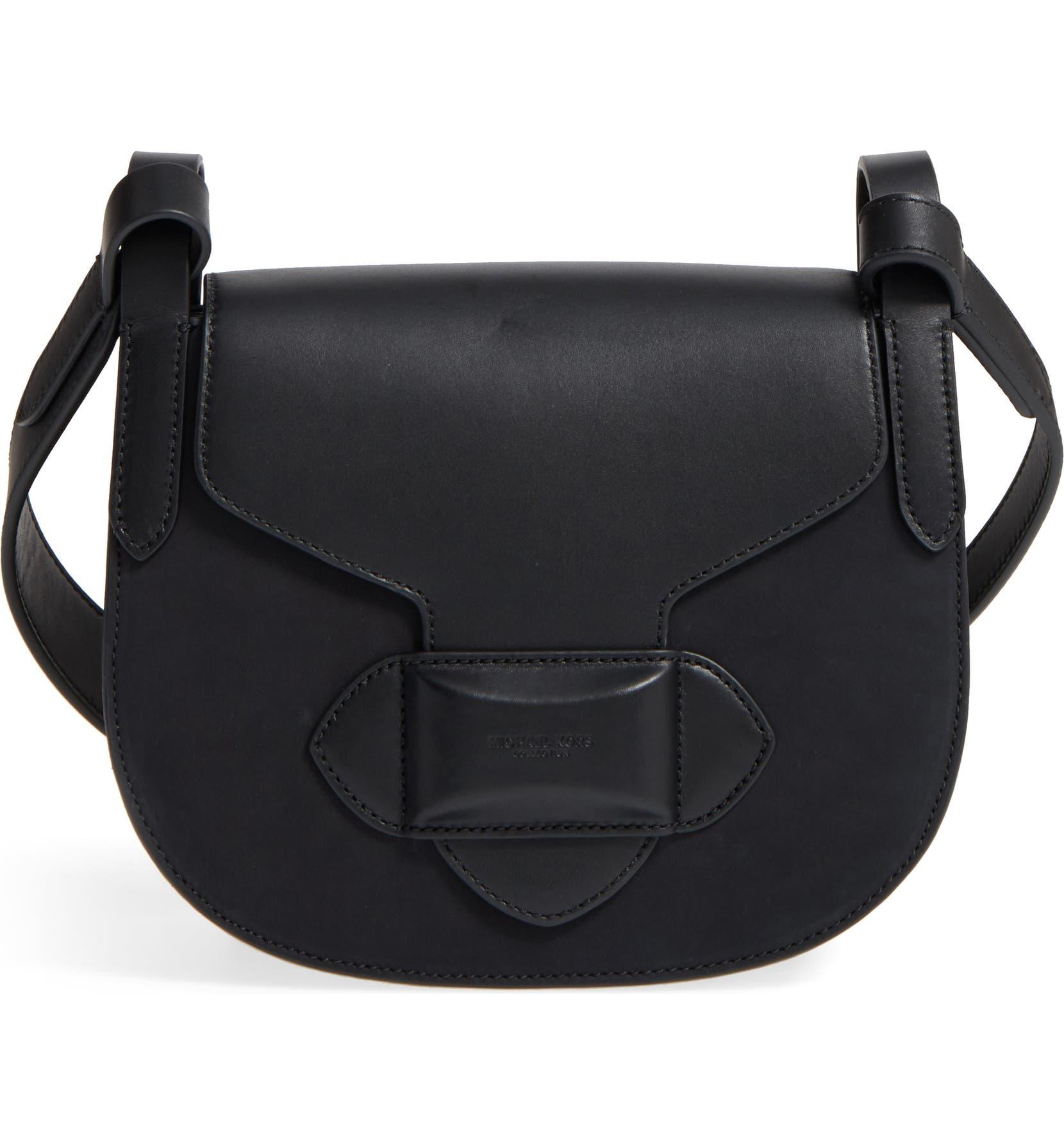 e0c5fb9e51a9 Michael Kors Small Daria Leather Crossbody Bag   Nordstrom