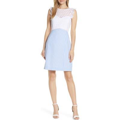 Lilly Pulitzer Maya Sheath Dress, Blue
