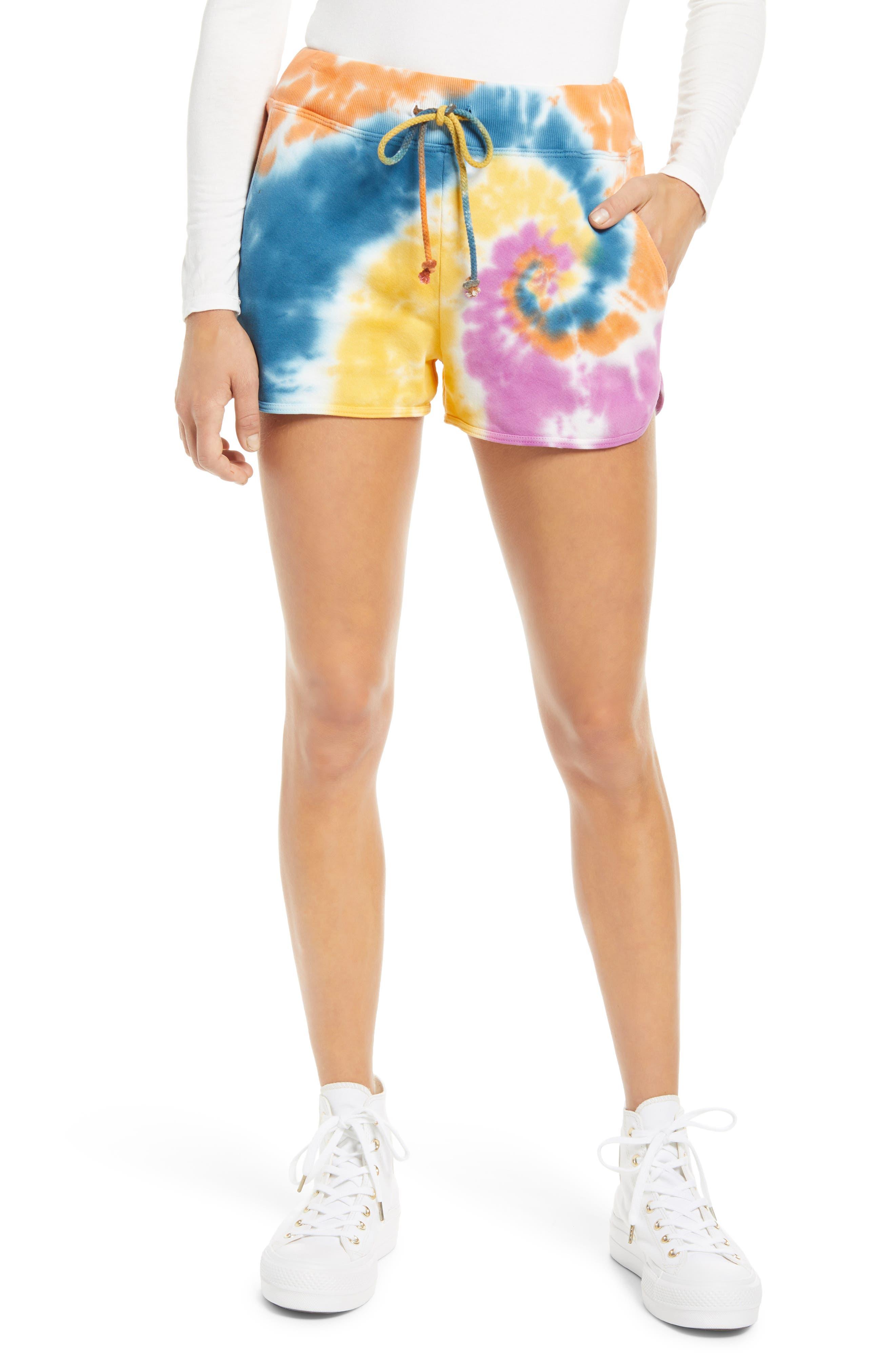 Double Trouble Tie Dye Shorts