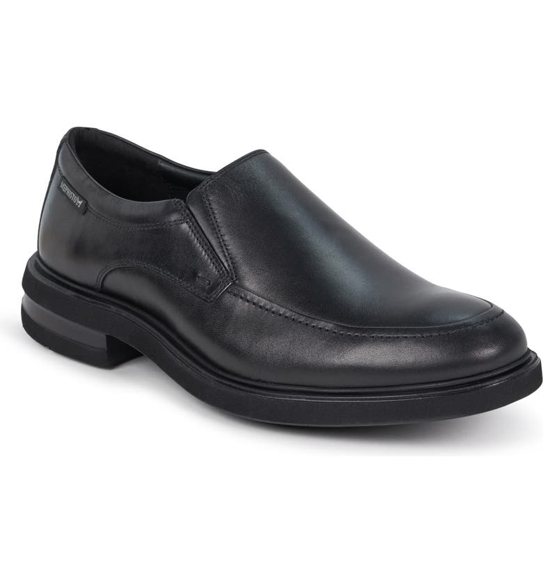 MEPHISTO Orso Slip-On, Main, color, BLACK LEATHER
