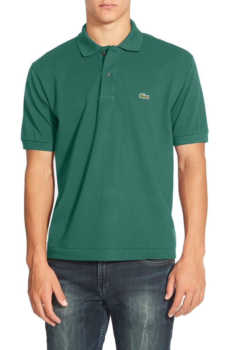 LACOSTE L1212 Regular Fit Piqué Polo, Main, color, 304