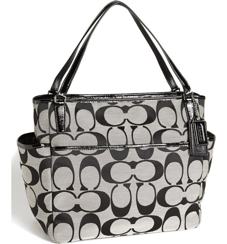 Coach Signature Diaper Bag Nordstrom