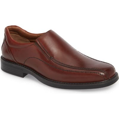 Johnston & Murphy Stanton Runoff Xc4 Waterproof Bike Toe Slip-On- Burgundy