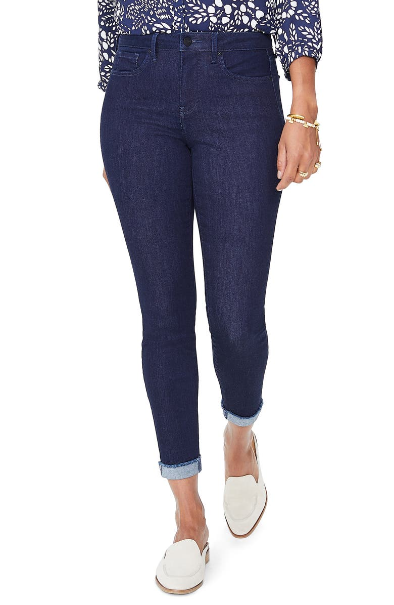 NYDJ Ami Cuffed Ankle Skinny Jeans, Main, color, 408
