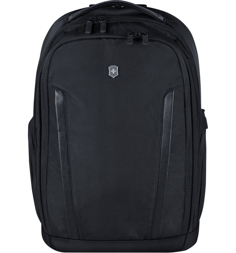 VICTORINOX SWISS ARMY<SUP>®</SUP> Altmont Essentials Black Laptop Backpack, Main, color, BLACK