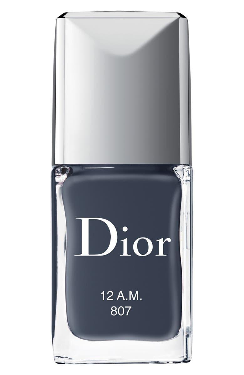 DIOR Vernis Gel Shine & Long Wear Nail Lacquer, Main, color, 807 12 A.M.