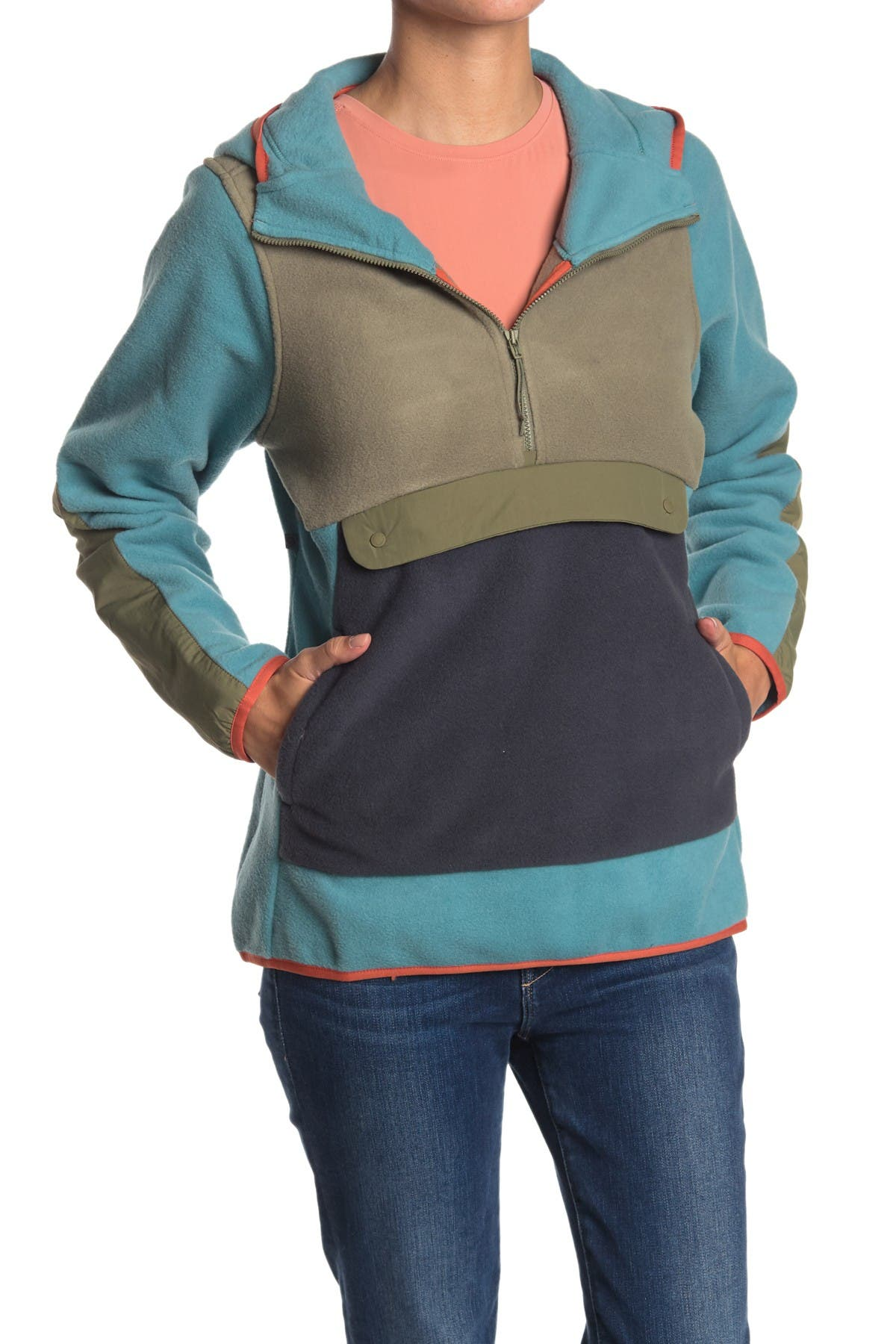 Image of MOUNTAIN HARDWEAR UnClassic Half Zip Fleece Hoodie