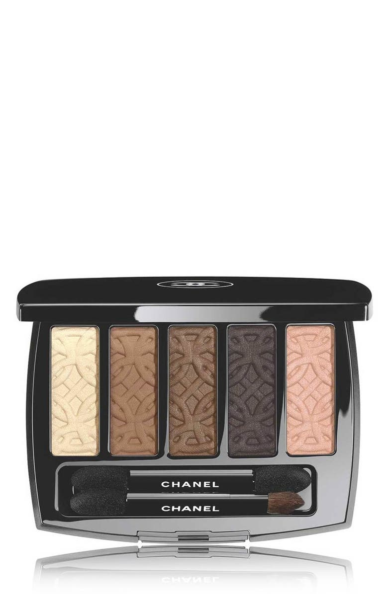 CHANEL LES 5 OMBRES DE CHANEL <br />Eyeshadow Palette, Main, color, 000