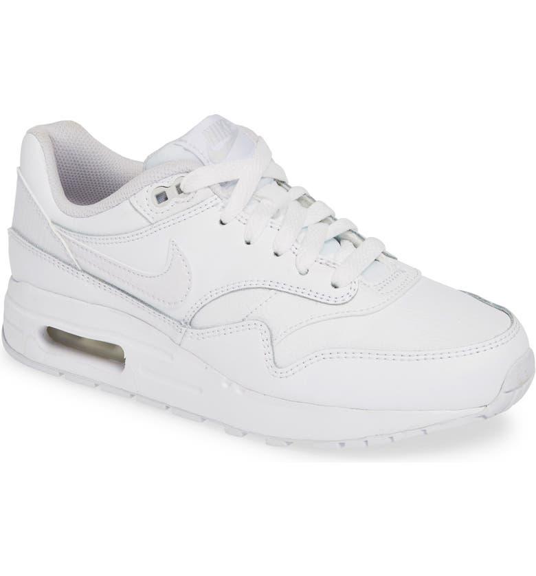 NIKE Air Max 1 Sneaker, Main, color, 105