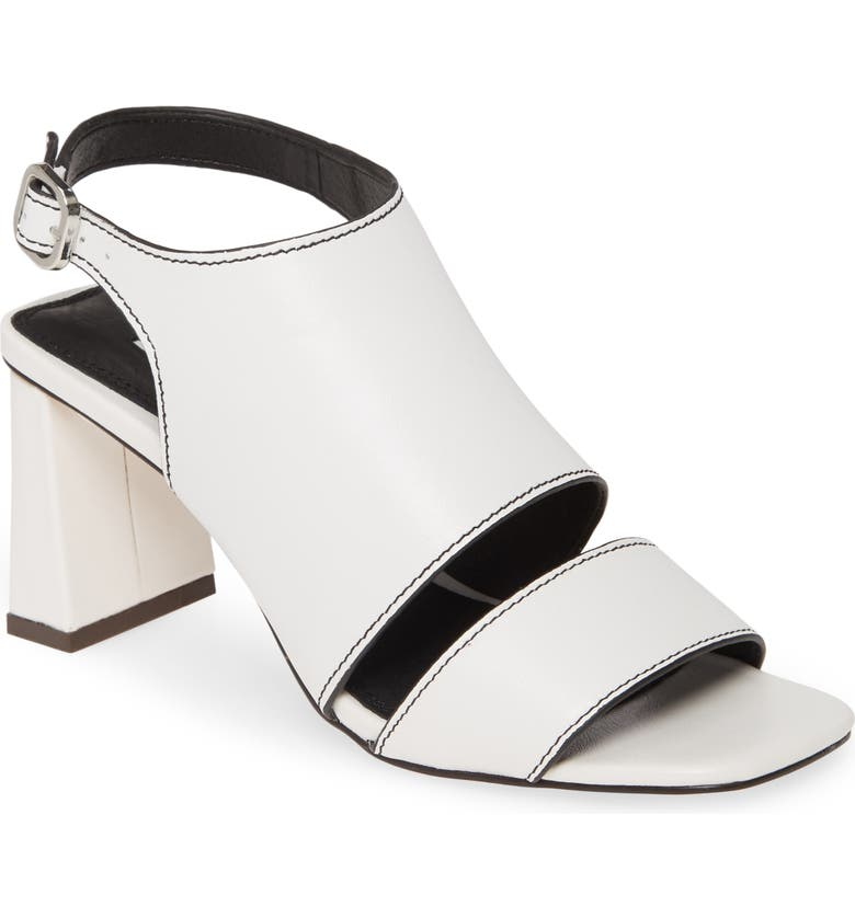 TOPSHOP Nateisha Sandal, Main, color, WHITE
