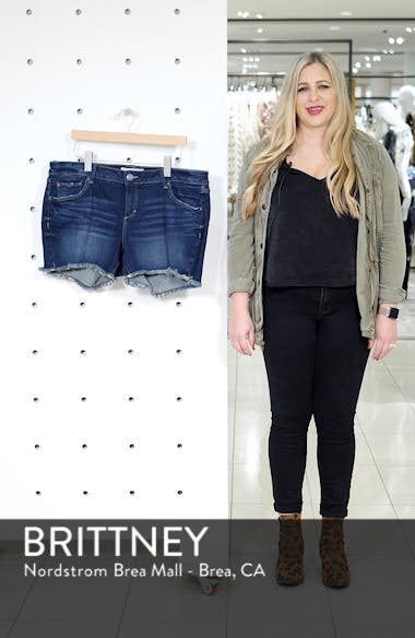 Frayed Denim Shorts, sales video thumbnail