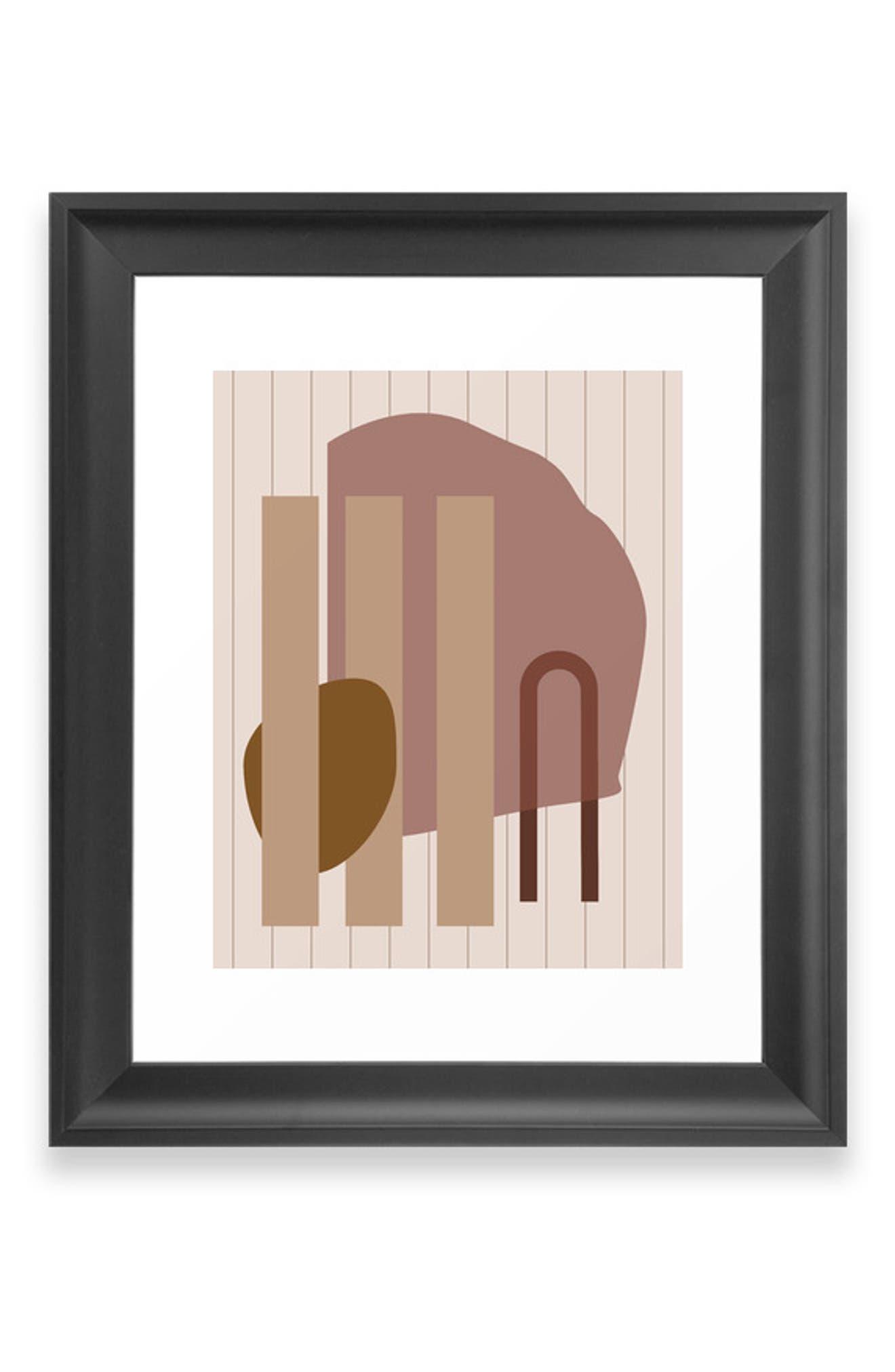 Bring graphic appeal to any space with a matte-finish art print available on its own or in a ready-to-hang frame. Style Name: Deny Designs Shape Study 25 Art Print. Style Number: 5868608. Available in stores.