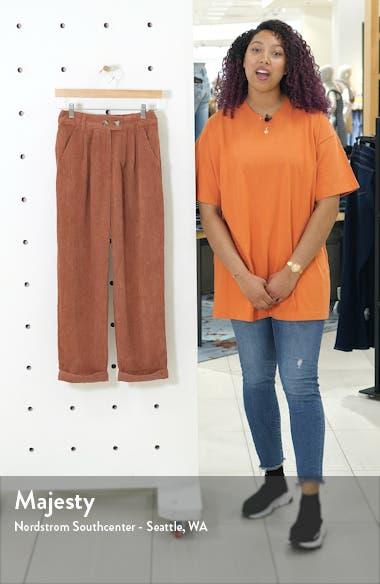 Straight Leg Cord Trousers, sales video thumbnail