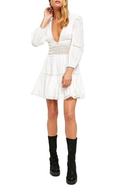 Free People Dresses THE DELIGHTFUL LONG SLEEVE MINIDRESS