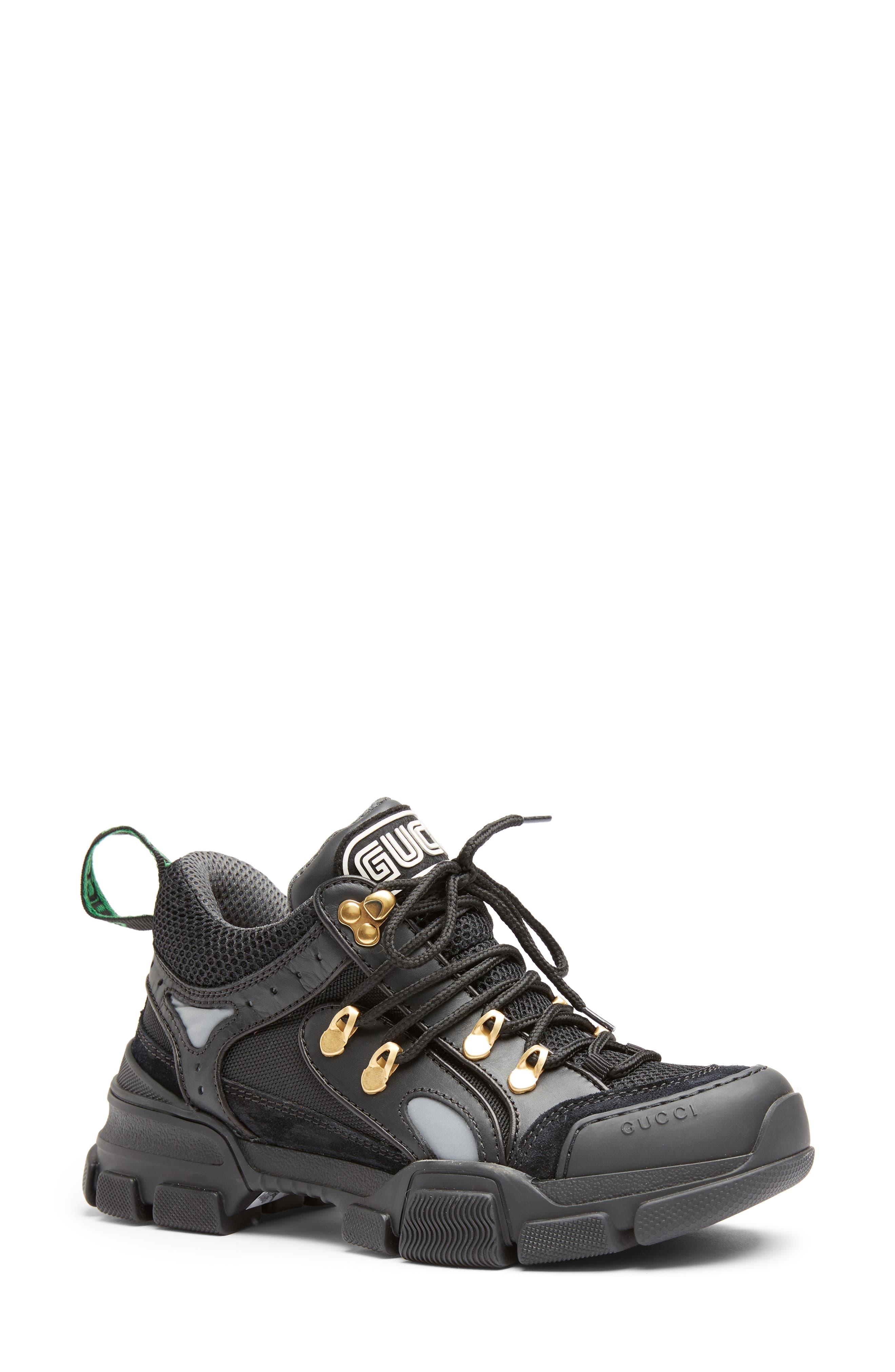 Gucci Flashtrek Sneaker, Black