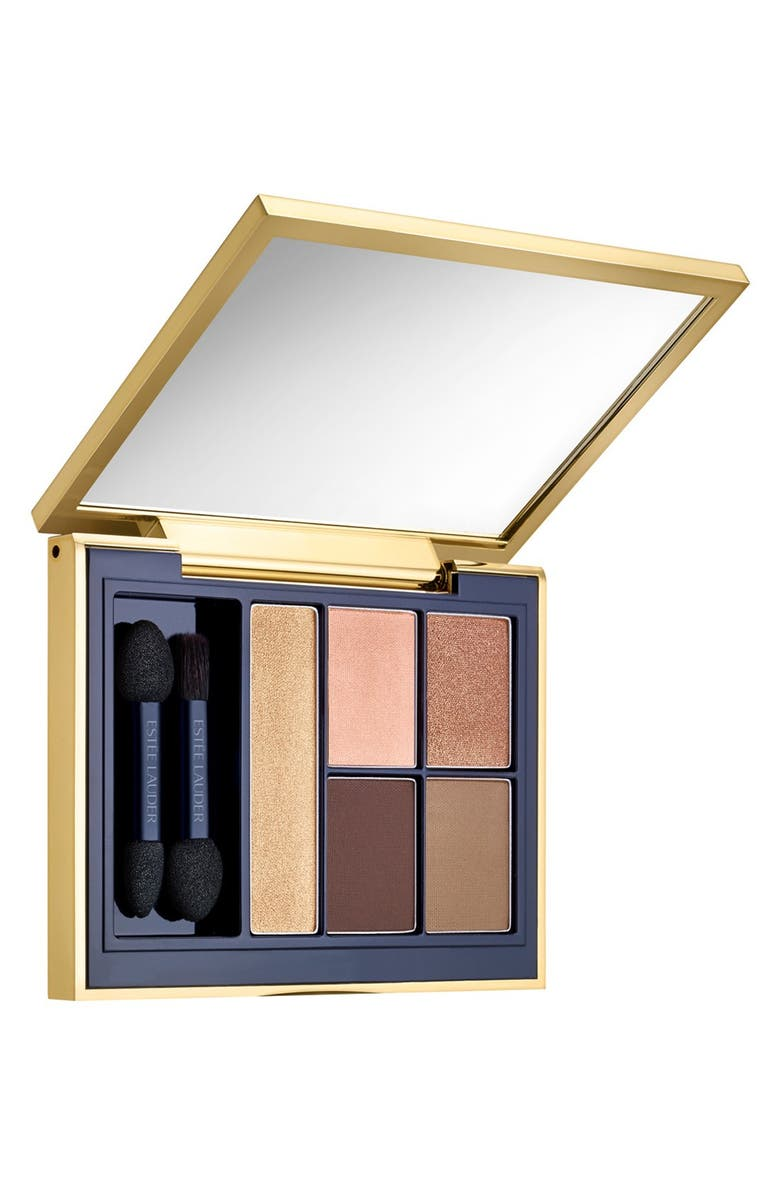 ESTÉE LAUDER Pure Color Envy Sculpting Eyeshadow Palette, Main, color, FIERY SAFFRON
