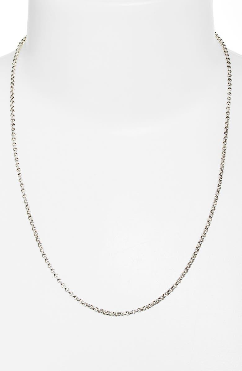 KONSTANTINO 'Classics' Link Necklace, Main, color, 040