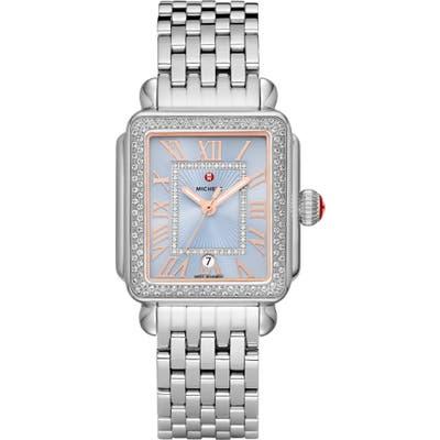 Michele Deco Diamond Bracelet Watch, 3m X 35Mm