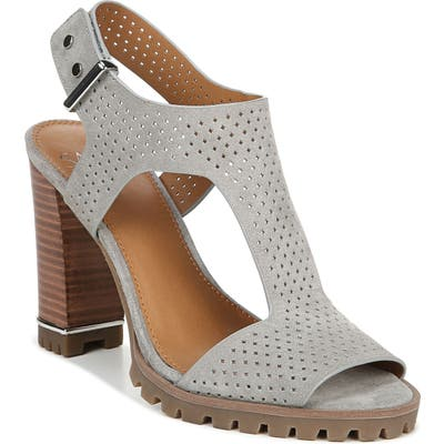 Sarto By Franco Sarto Allister Perforated Sandal, Grey