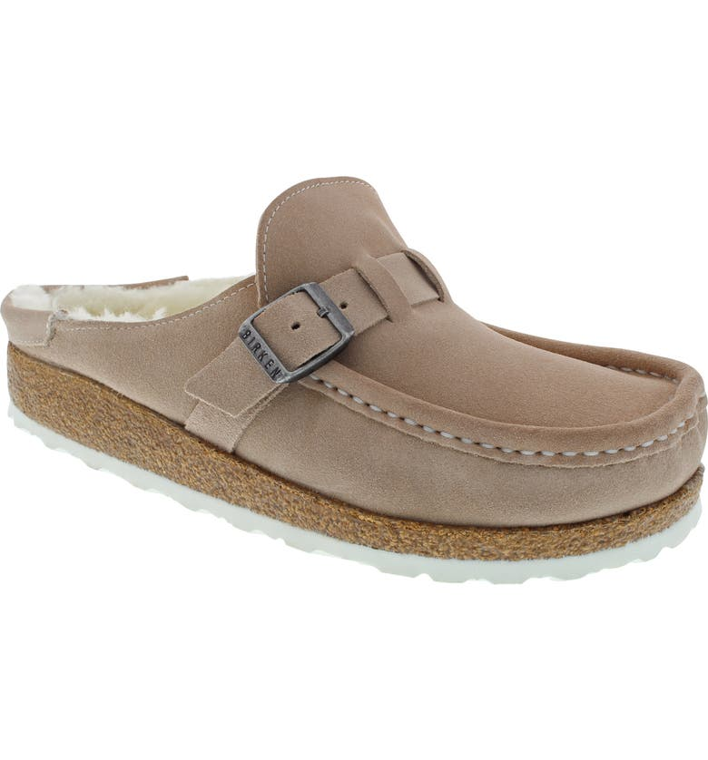 BIRKENSTOCK Buckley Genuine Shearling Mule, Main, color, 250