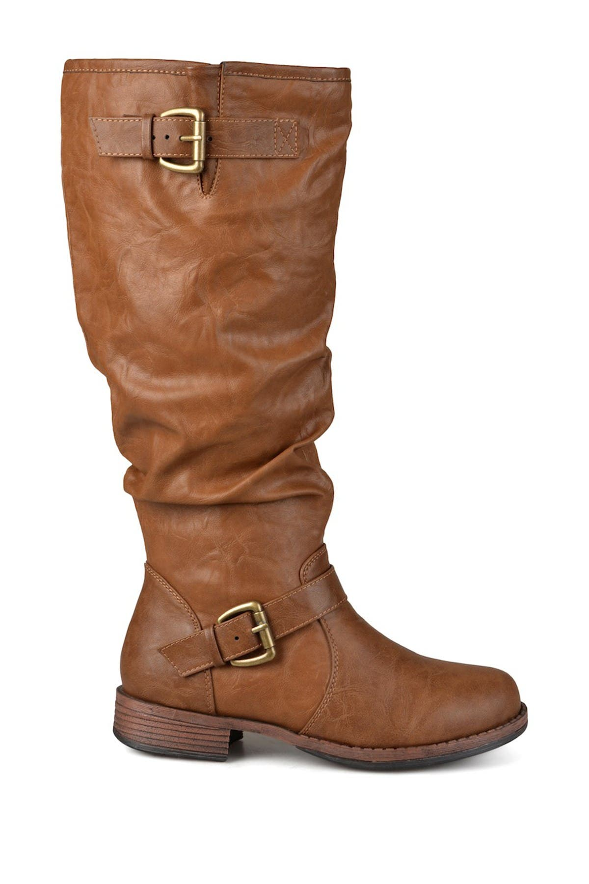 Image of JOURNEE Collection Stormy Riding Boot - Extra Wide Calf