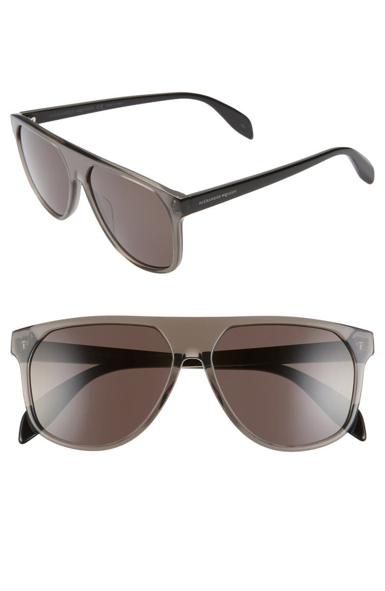 Alexander McQueen 58mm Sunglasses