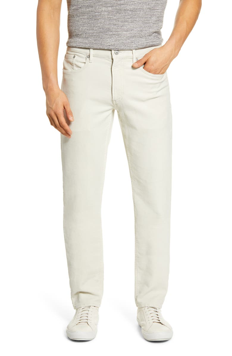FAHERTY Stretch Terry 5-Pocket Pants, Main, color, STONE