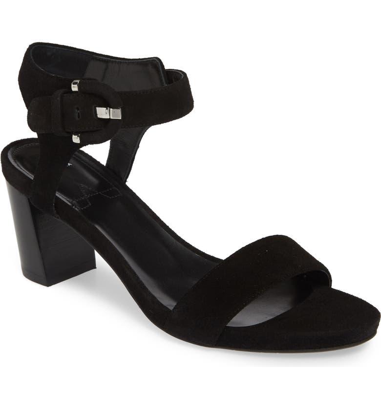 AQUATALIA Breanna Ankle Strap Sandal, Main, color, 001