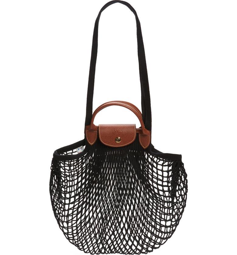 Longchamp Le Pliage Filet Knit Shoulder Bag | Nordstrom