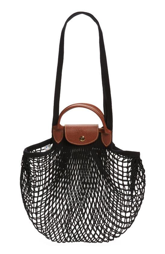 Longchamp LE PLIAGE FILET KNIT SHOULDER BAG