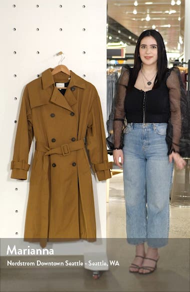 Belted Technical Trench Coat, sales video thumbnail