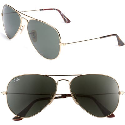 Ray-Ban Original Aviator 5m Sunglasses - Gld Grn