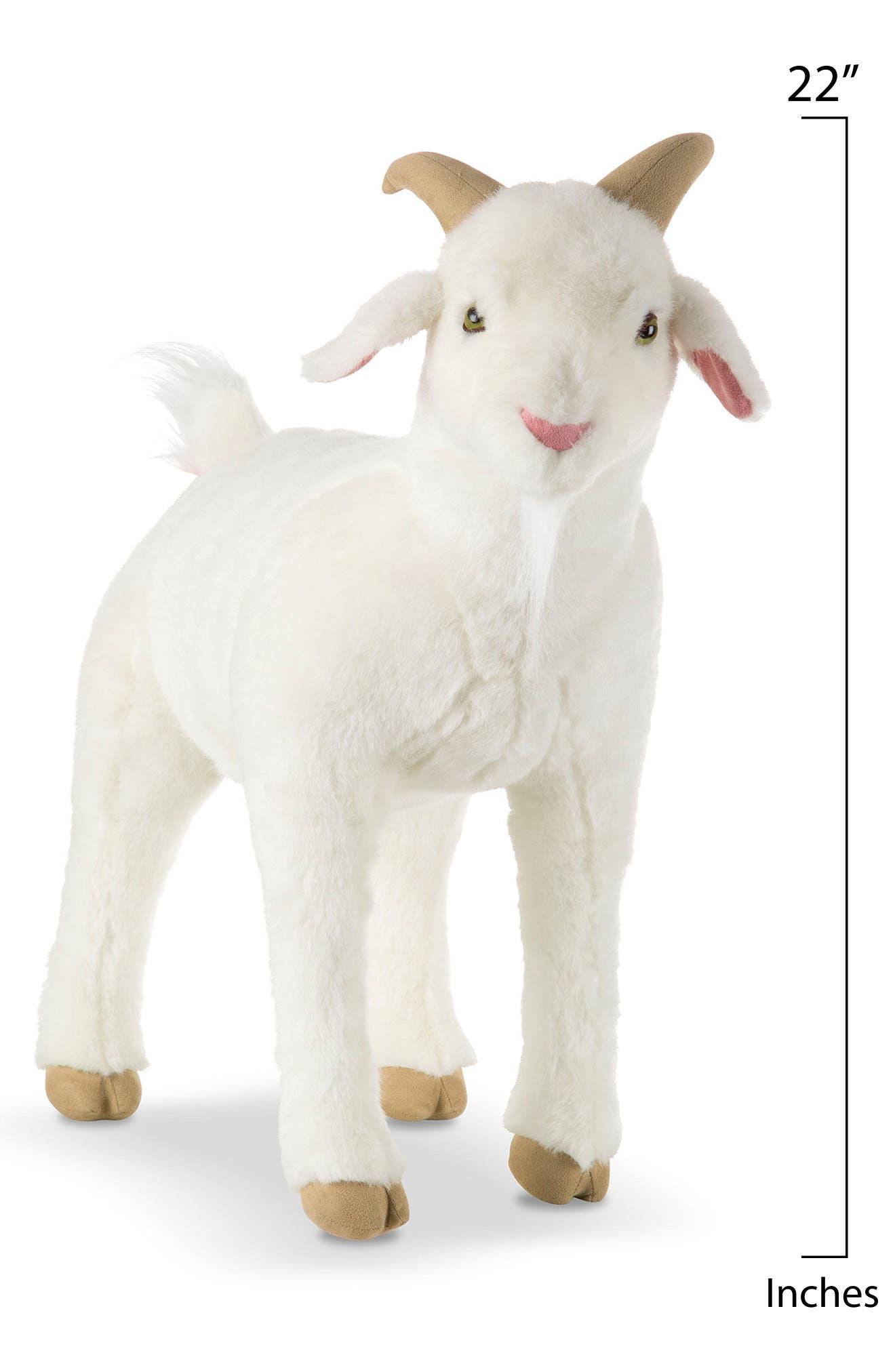 ,                             Giant Goat Plush Toy,                             Alternate thumbnail 2, color,                             WHITE MULTI
