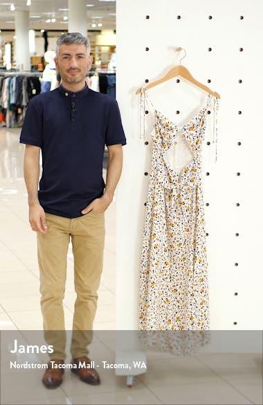 Phoebe Animal Print Tie Front Cutout Maxi Dress, sales video thumbnail