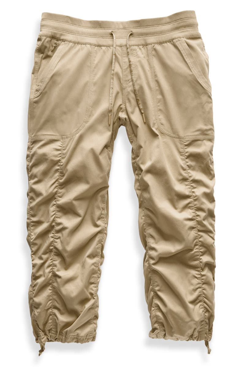 THE NORTH FACE Aphrodite 2.0 Capri Pants, Main, color, DUNE BEIGE