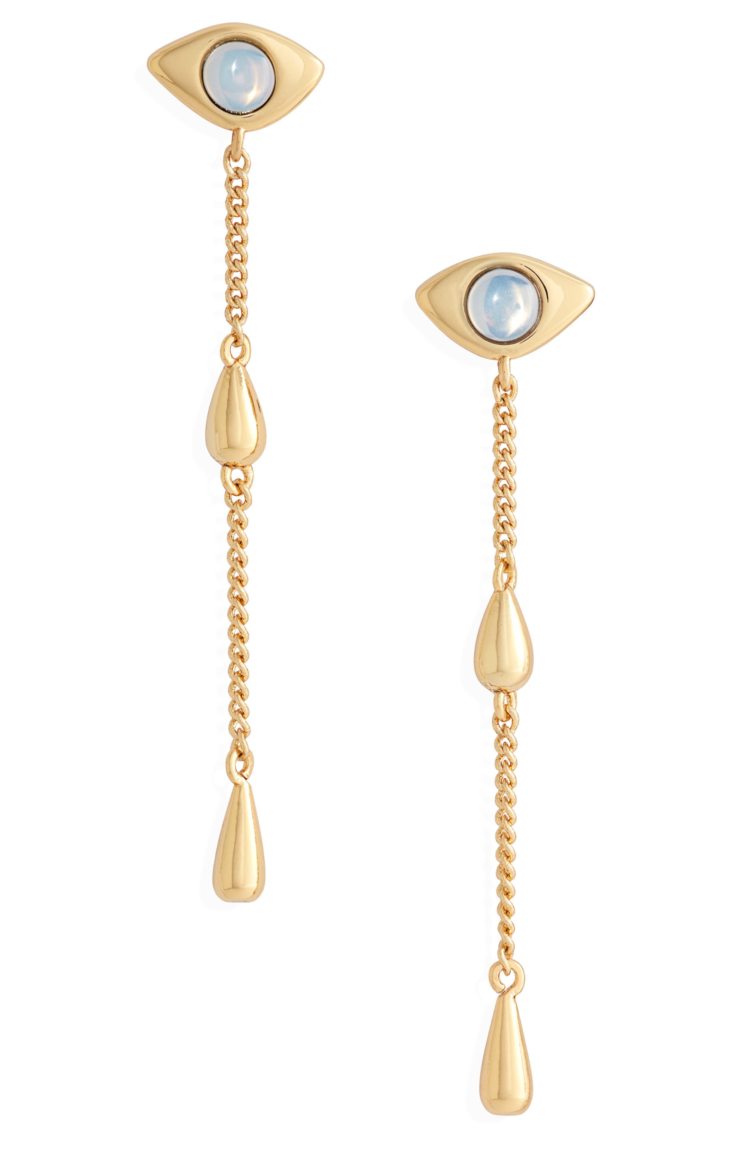 Denni Linear Drop Earrings