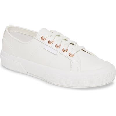 Superga 2750 Nappaleaw Sneaker, White