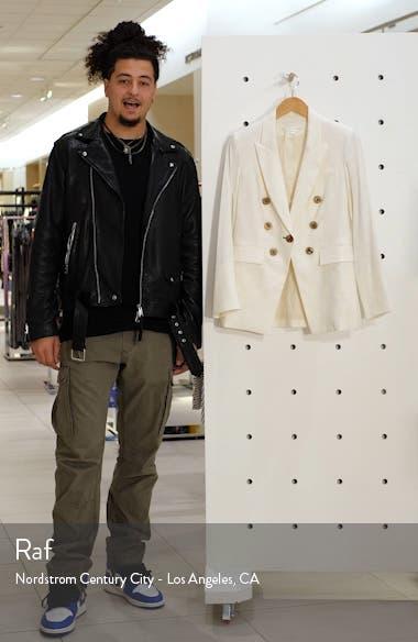 Gaya Linen Blend Dickey Jacket, sales video thumbnail