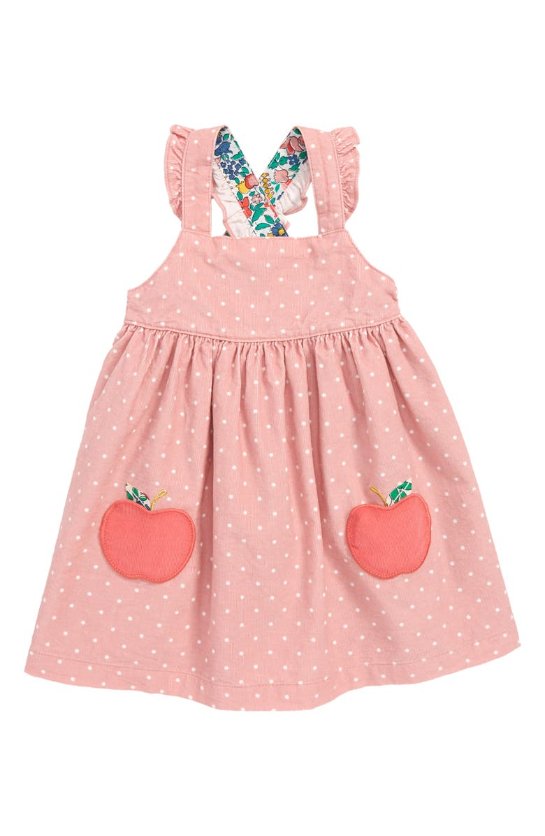9b8022bd8 Mini Boden Appliqué Pinafore Dress (Baby Girls & Toddler Girls ...