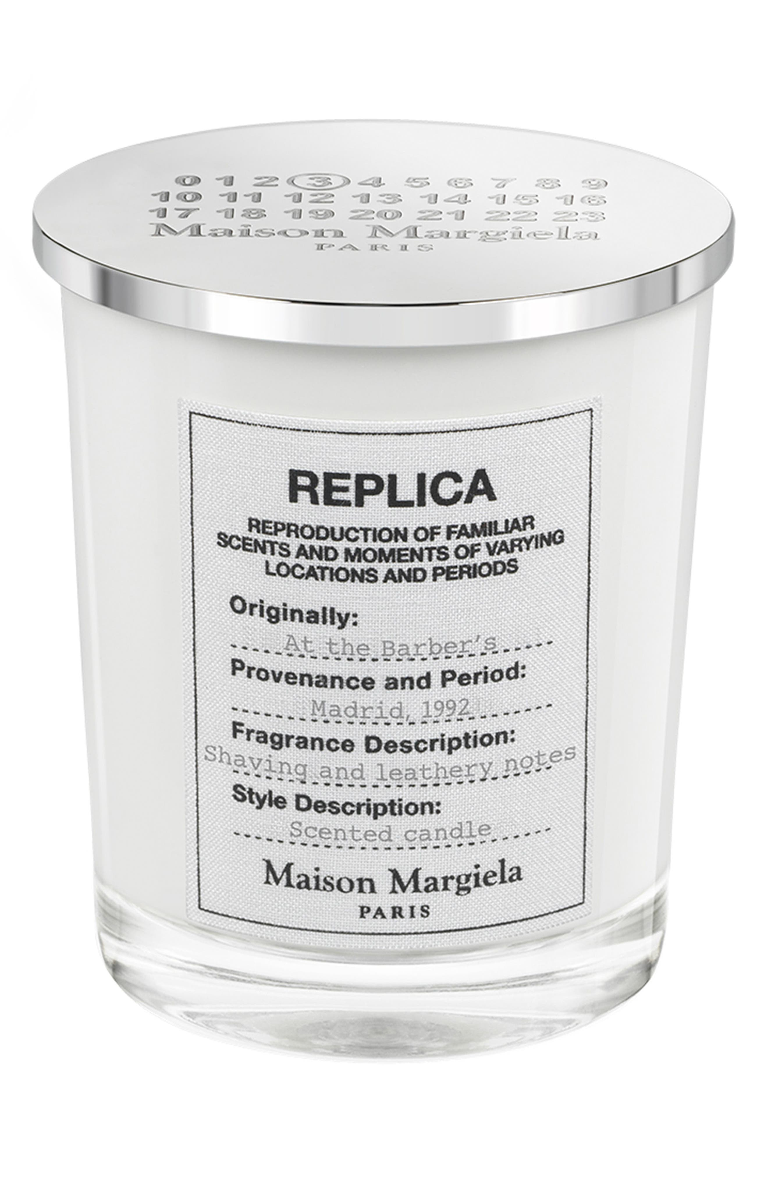 Maison Margiela Replica At The Barbers Candle Size One Size  None