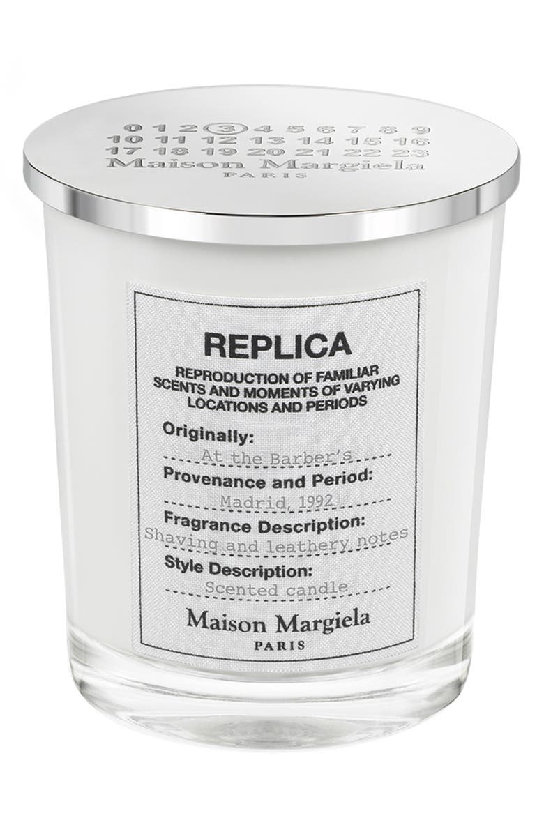 MAISON MARGIELA Replica At the Barber's Candle, Main, color, NO COLOR