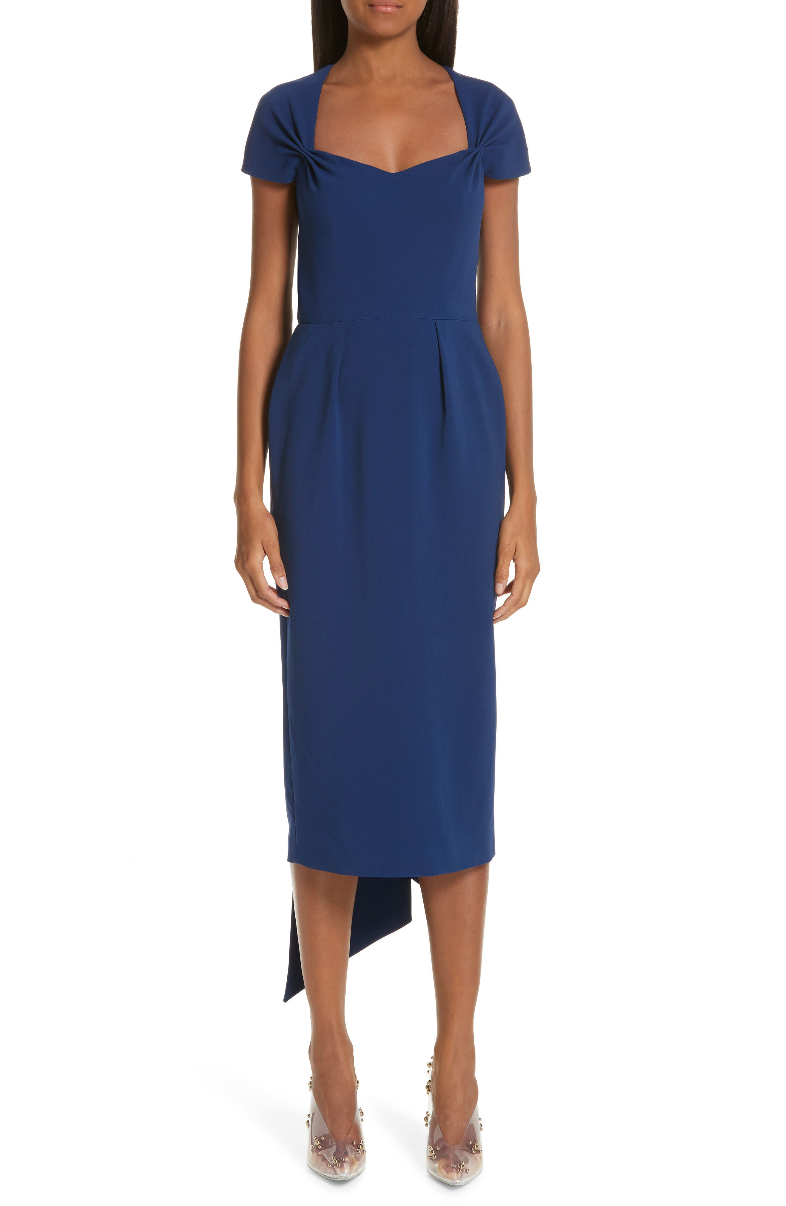 Stella Mccartney Midi Dress, 8 IT - Blue