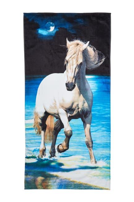 Image of Apollo Towels Horses Beach Towel - Multi