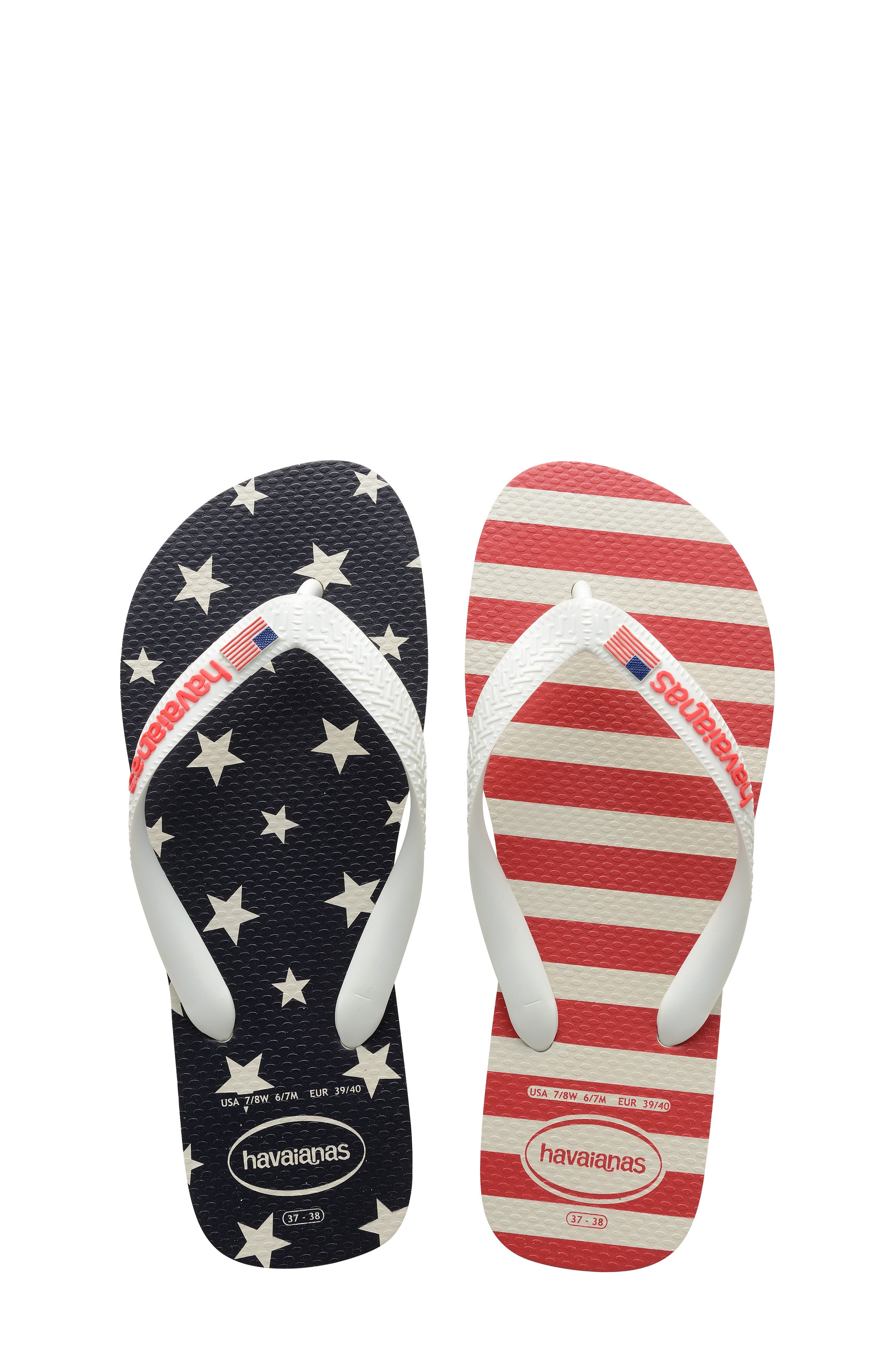 Havianas Top Usa Stars And Stripes Flip Flop