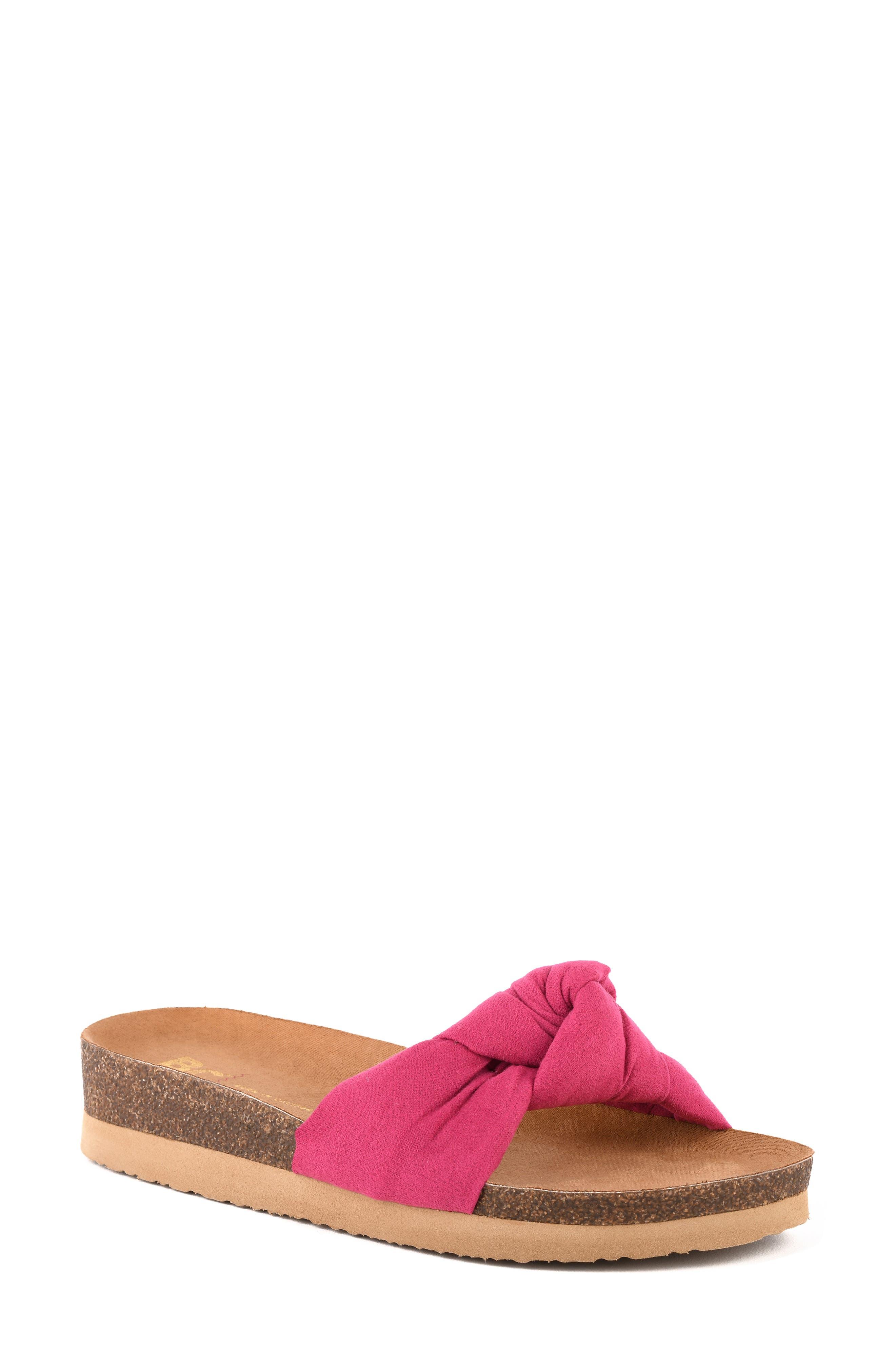 Reunion Platform Slide Sandal