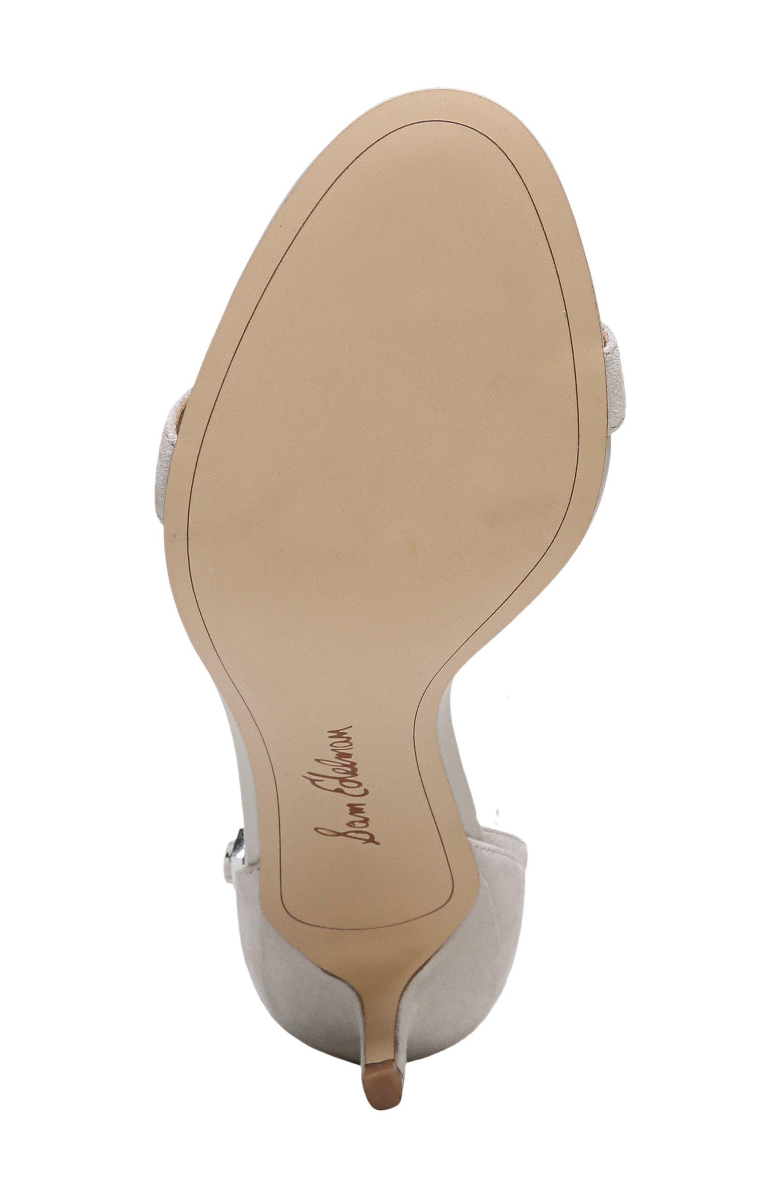 ,                             'Patti' Ankle Strap Sandal,                             Alternate thumbnail 161, color,                             021