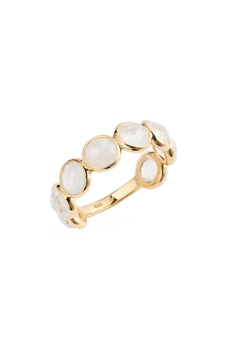 LEAH ALEXANDRA Sola Moonstone Ring, Main, color, 020