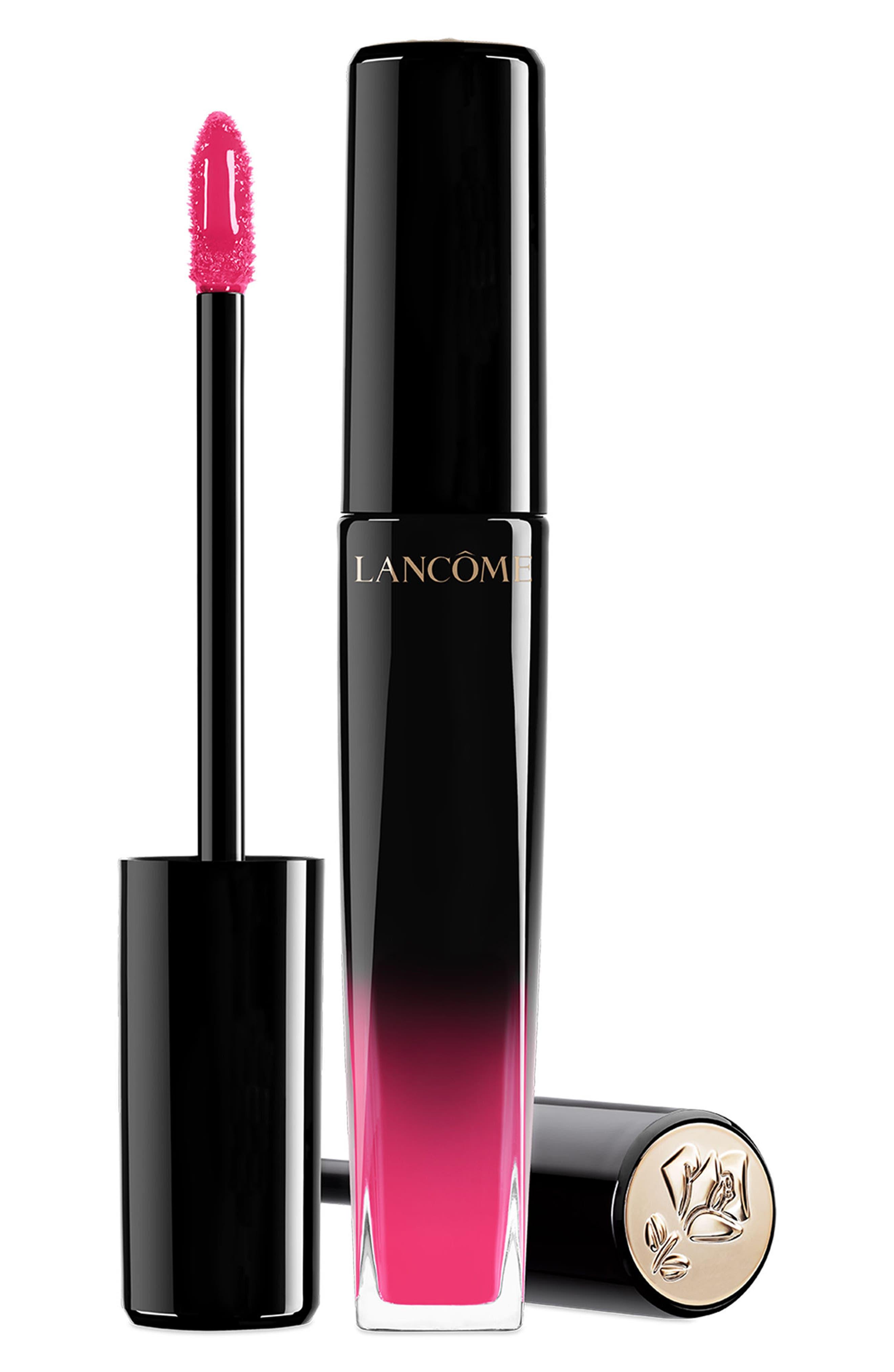 L'Absolu Lip Lacquer, Main, color, ULTRA-ROSE
