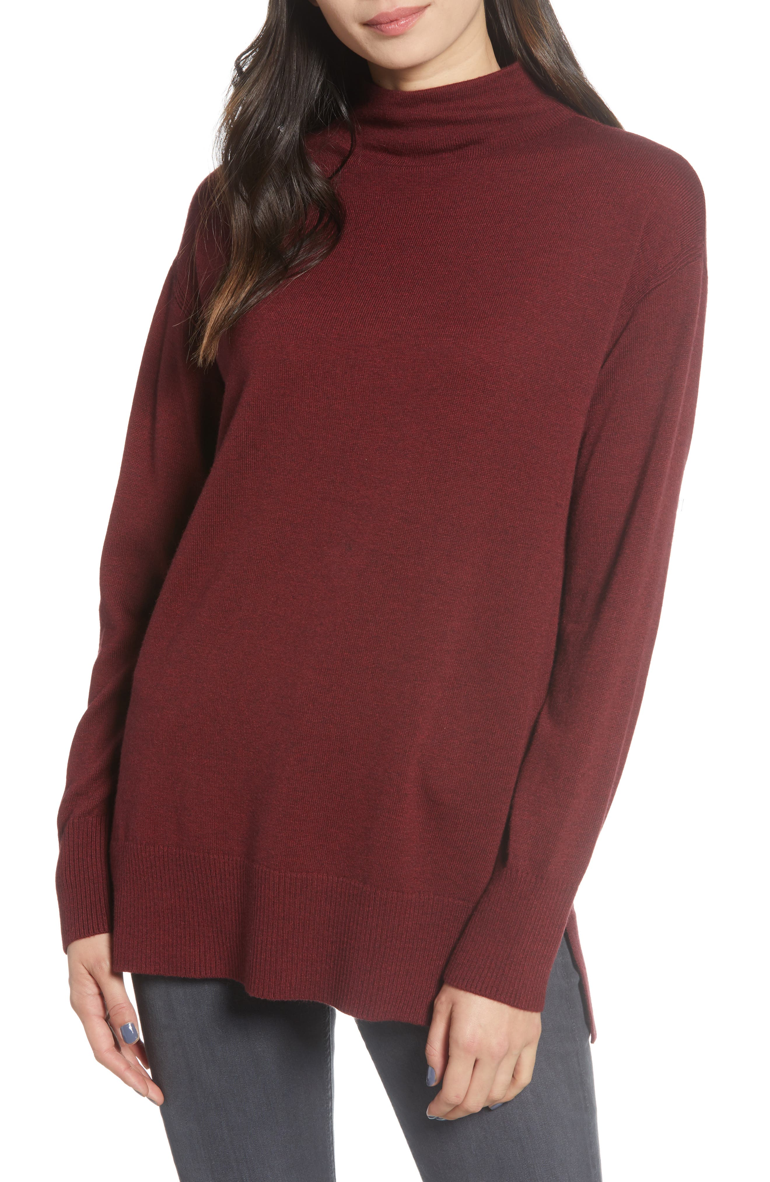 Image of Chelsea28 Funnel Neck Sweater