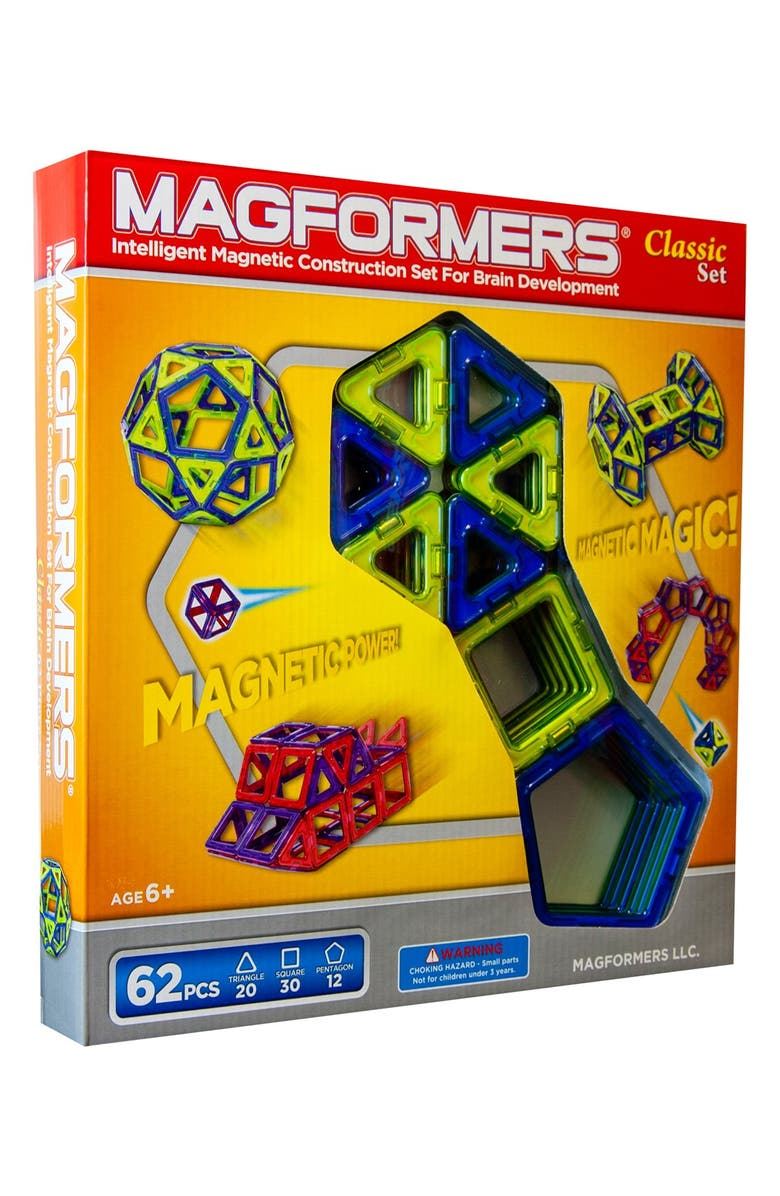 MAGFORMERS 'Classic' Construction Set, Main, color, MULTI